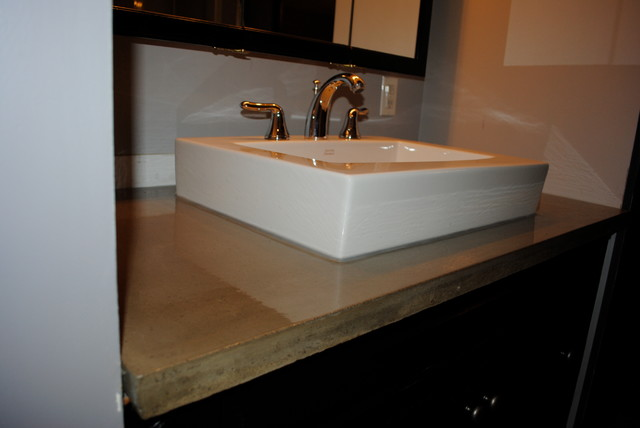 Modern Vanity Tops : Bathroom vanities modern vanity tops and side splashes