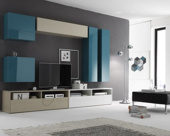 Modern Wall Unit Box Combi 11 by LC Mobili - $1,653.00 - Modern Wall Unit Box Combi 11 by LC Mobili, Italy. Beautiful design and affordable price.