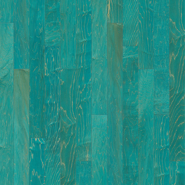 Maple Trio Teal Hardwood Flooring Richmond By Korus