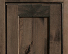 Dura Supreme Cabinetry Highland Inset Cabinet Door Style eclectic-kitchen-cabinets