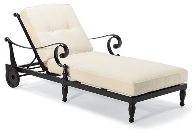 Marseilles Outdoor Chaise Lounge Chair Cushions - Frontgate, Patio ...