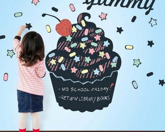 Wallcandy Arts Cupcake Chalkboard Decal - Wallcandy Arts Cupcake Chalkboard Decal