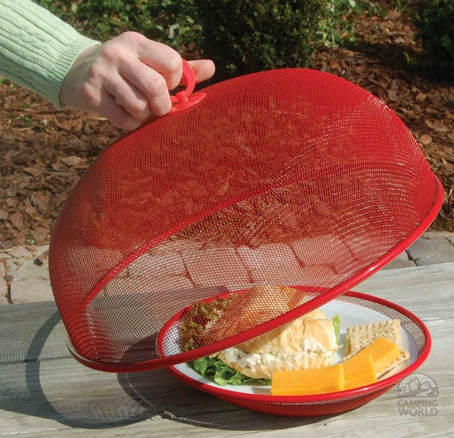 Mesh Food Covers contemporary-grill-tools-and-accessories