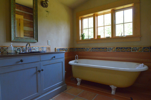 Bathtub refinishing orlando tub refinishing orlando for Mexican themed bathroom ideas