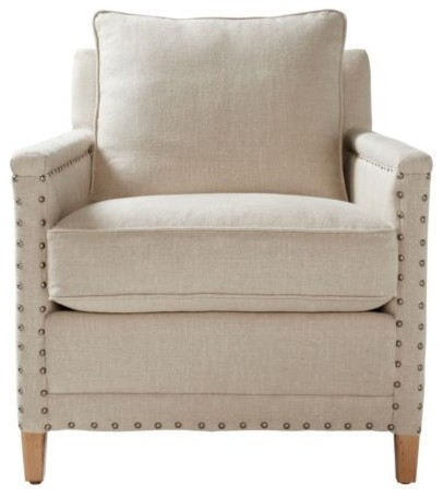Spruce Street Chair  Upholstered traditional-accent-chairs