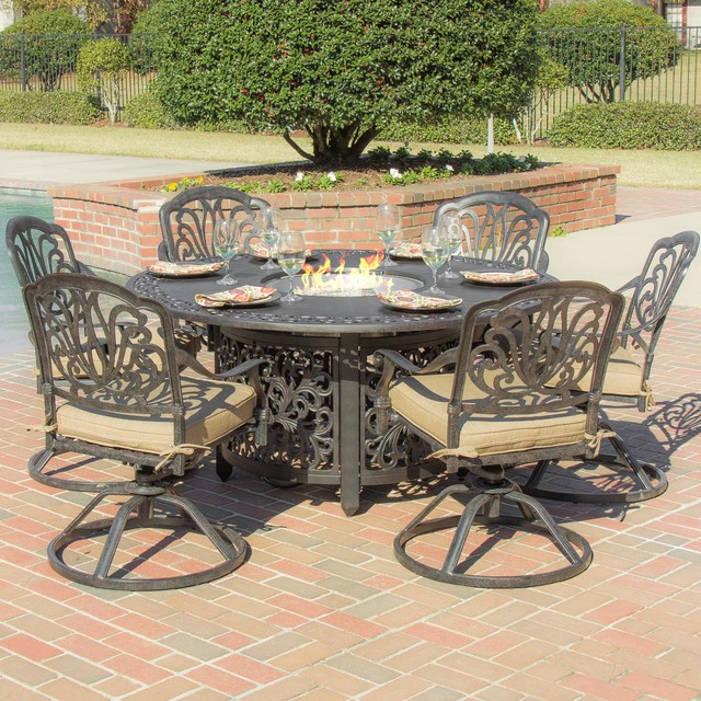 Cast Aluminum Cast Aluminum Fire Pit Table
