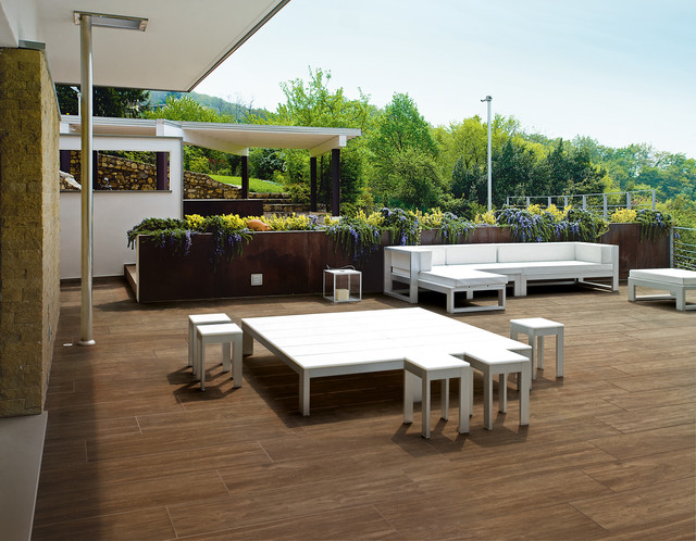 oak anti slip (oak wood tile).jpg contemporary floor tiles