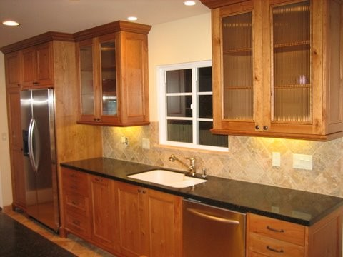 Galley kitchen remodel before and after traditional for Small galley kitchen remodel before and after