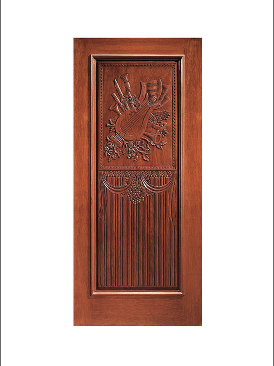 Carved and Mansion Entry Doors Model # 4 -