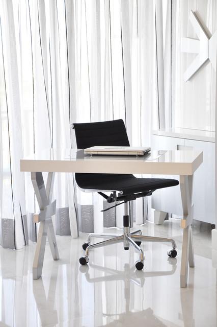 Modern desk contemporary-desks-and-hutches