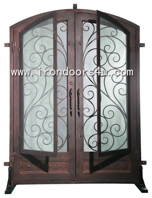 iron front doors-----DED-005 traditional-front-doors