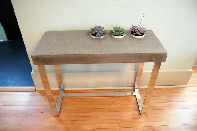 Concrete Table modern-side-tables-and-end-tables
