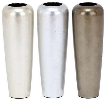 Ceramic Vase with Simple and Elegant Design - Set of 3 contemporary-vases