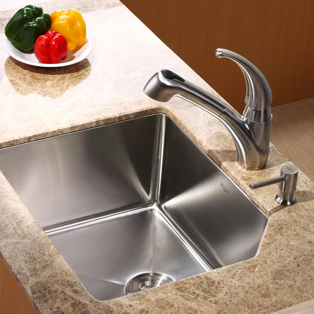 Faucets For Undermount Kitchen Sinks : Go Back > Gallery For > Undermount Kitchen Sinks And Faucets