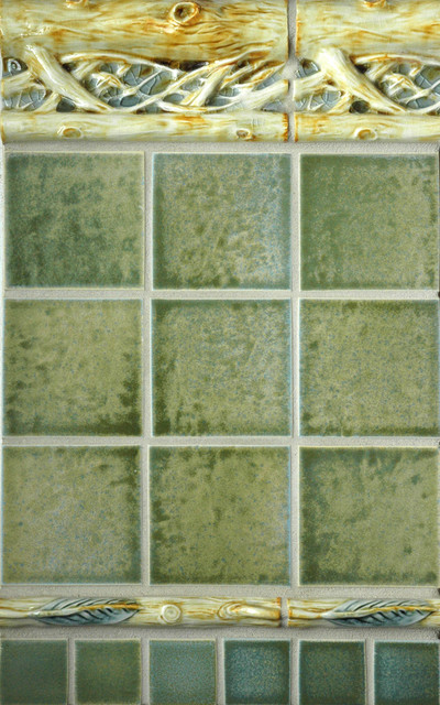 Craftsman Style Rustic Tile Portland By Pratt And