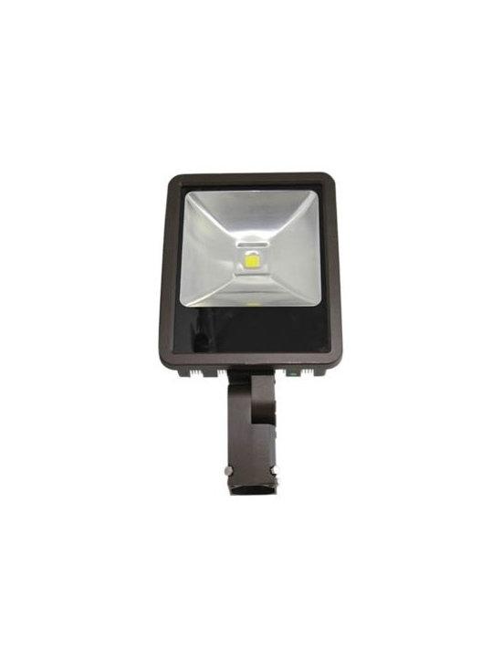 "Westgate - Westgate LF-100-SF 100W LED Flood Light, 2"" Slip-Fitter - Westgate LF-100-SF 100W LED Flood Light, 2"" Slip-Fitter"