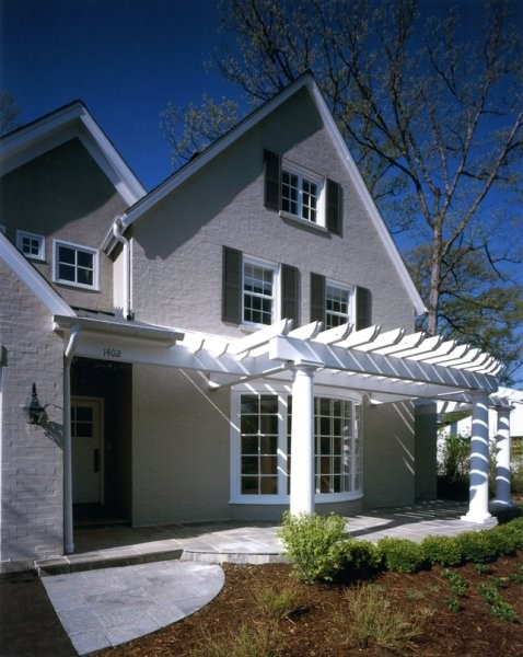Becker Architects traditional-exterior