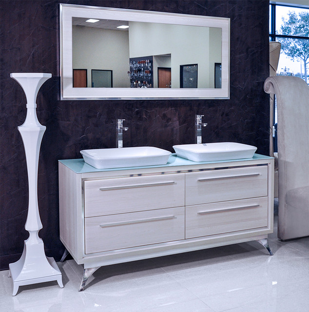 cristana modern double sink bathroom vanity set 65