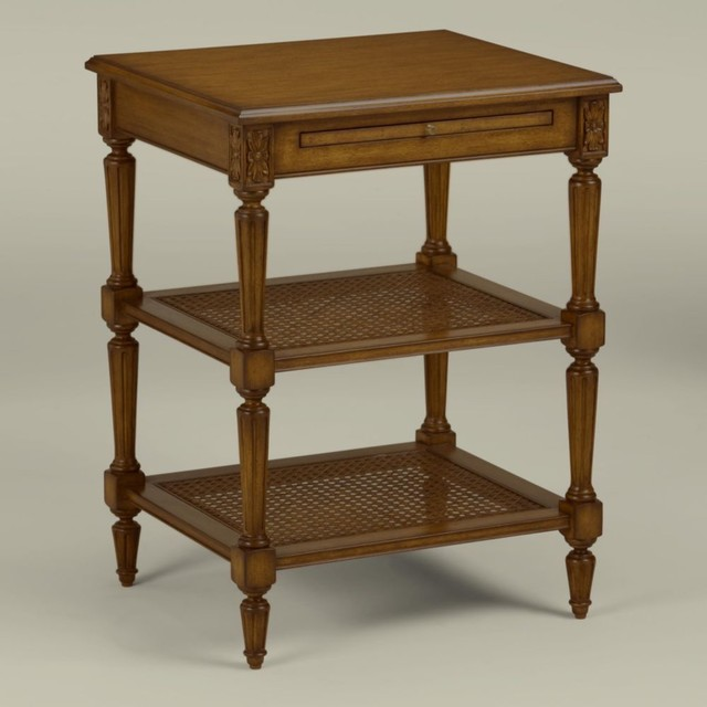 Maison By Ethan Allen Elise Table Traditional Nightstands And Bedside Tables By Ethan Allen
