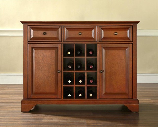LaFayette Buffet Server / Sideboard Cabinet w contemporary-buffets-and-sideboards
