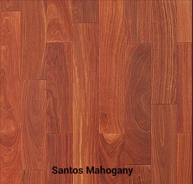 Santos Mahogany Unfinished Hardwood Flooring - Hardwood ...