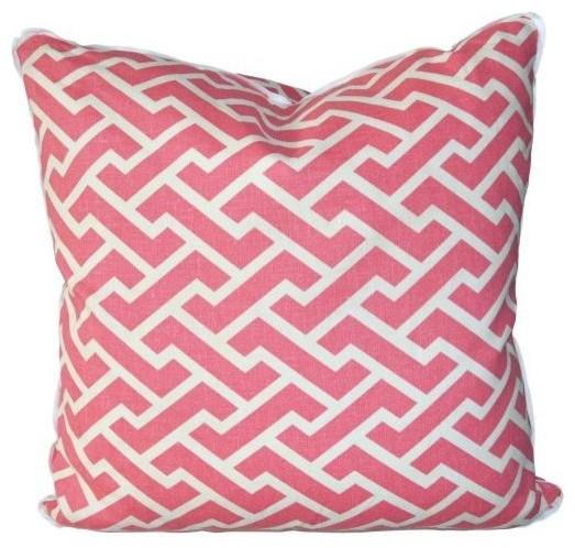 Oomph Aga Pillow - Watermelon traditional-decorative-pillows