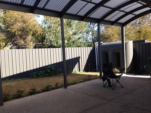 backyard solution