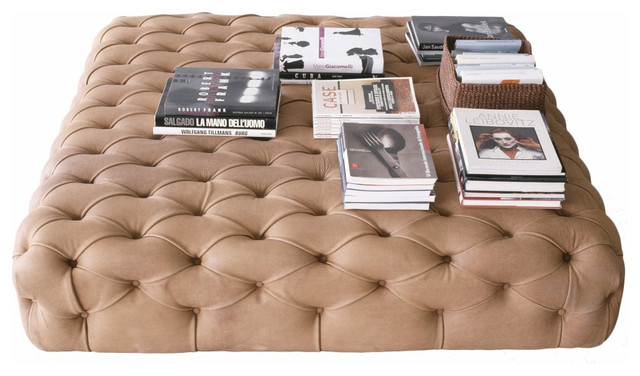 Pouf by De Padova contemporary ottomans and cubes
