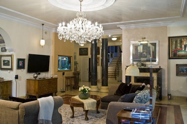 private classic living-rooms traditional