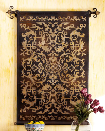 Leather Tapestry traditional artwork