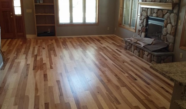 Hickory wood flooring rustic other metro by for Hardwood floors grand junction