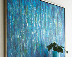 """Blue Jinlu"" Painting contemporary-artwork"