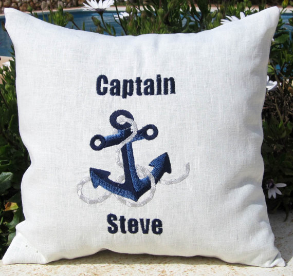nautical decor contemporary-decorative-pillows