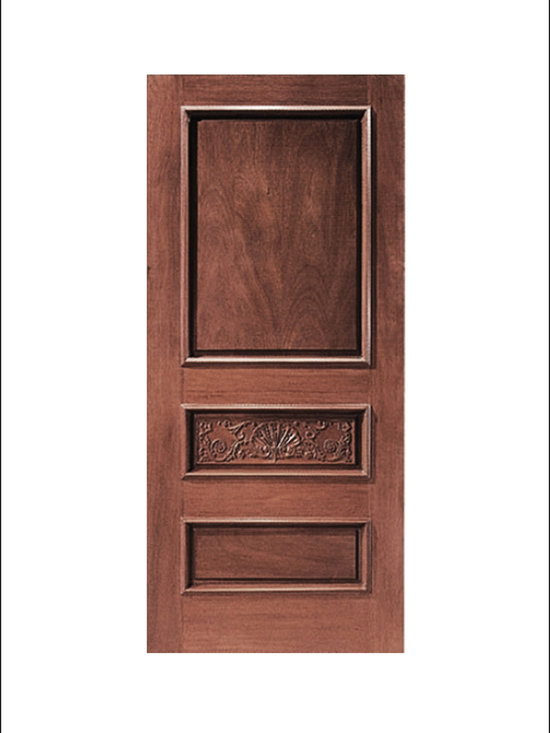 Carved and Mansion Entry Doors Model # 1 -
