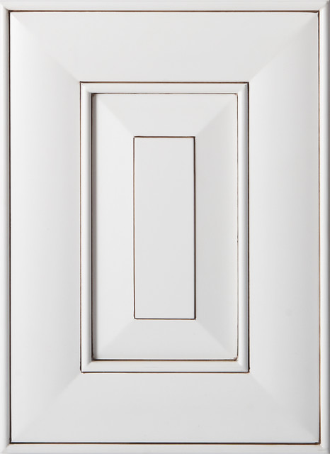 Franklin White Cabinet Door (Coming Soon) - Traditional - Kitchen Cabinetry - nashville - by ...
