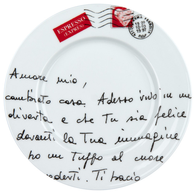 S/4 Plates - Amore Mio traditional-plates