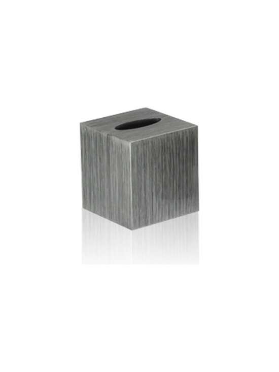 Belle & June - Brushstrokes Silver/Black Boutique Tissue Holder - This gorgeous tissue box is nothing to sneeze at. The black and silver finish clearly elevates a mundane product to a whole new level. You might want to keep it for yourself though right by your bed.