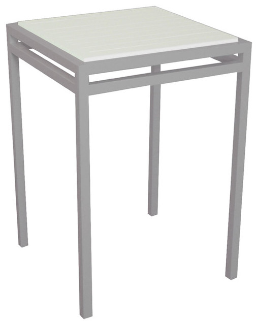 Modern Outdoor Talt Bar Height Table For 4 Modern Patio Furniture And O