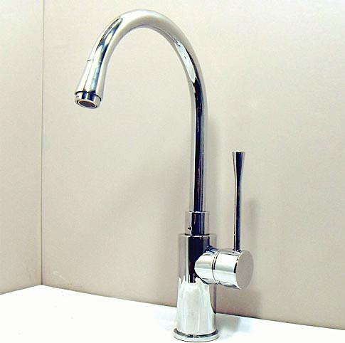 modern single handle chrome kitchen faucet modern