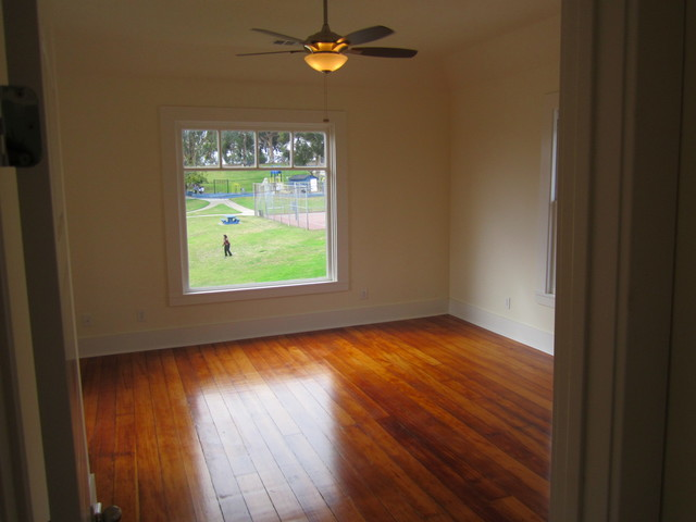 100 Year Old Douglas Fir hardwood Floors
