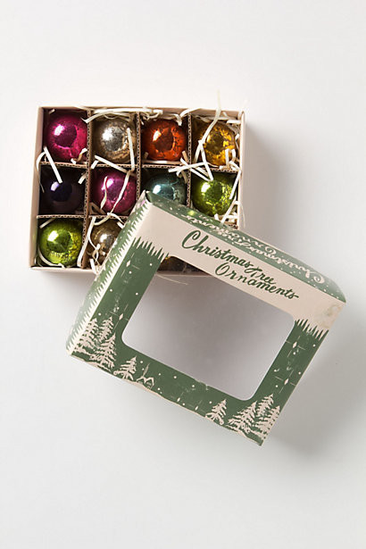 Traditional Holiday Decorations by Anthropologie