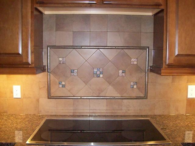 Kitchen Tile Backsplashes traditional-kitchen