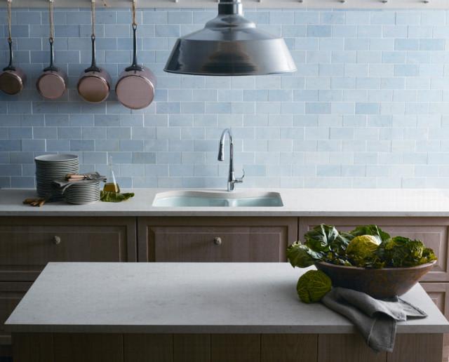 Blue Brick Kitchen farmhouse-kitchen