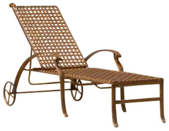 Coco Palm Outdoor Chaise Lounge by Hospitality Rattan contemporary-indoor-chaise-lounge-chairs