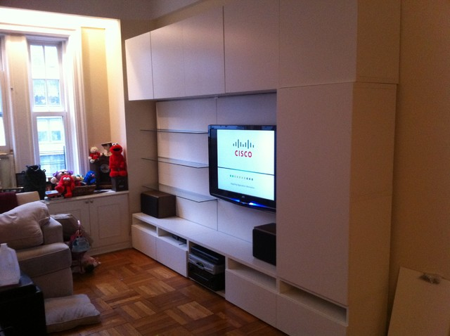 IKEA Besta and Besta / Framsta TV entertainment installations