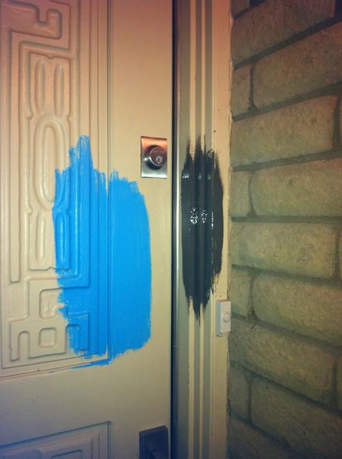 Exterior Door Trim Color