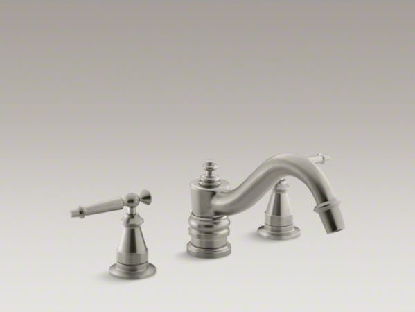 KOHLER Antique Bath Faucet Trim For Deck Mount High Flow Valve With Lever Han