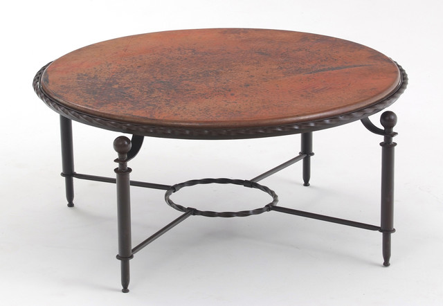 Http Houzz Com Photos 7374050 Unique Copper Coffee Table Transitional Coffee Tables Other Metro