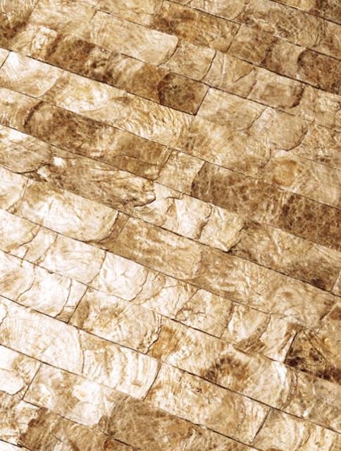 maya romanoff mother of pearl wall tiles wallpaper