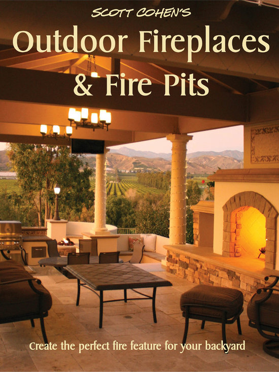 Outdoor Fireplaces & Fire Pits - Backyard fire features are among today's hottest outdoor living trends. In his latest book, Scott Cohen's Outdoor Fireplaces and Fire-Pits, the acclaimed garden designer shares his secrets for using fire to turn any patio into a warm, inviting outdoor room. From romantic stone fireplaces to crowd-pleasing fire circles to dramatic fire bowls, torches and troughs, you'll find what you need to create dazzling nighttime displays in this essential volume for homeowners, outdoor designers and builders. The latest in his outdoor design series, Cohen's book includes hundreds of colorful, inspiring photos along with specific guidelines, plans, blueprints, and tips you can use to build your own outdoor fireplace or fire pit. From massive to modest, there are fire features here to suit nearly any yard. Cohen offers advice on choosing the appropriate feature for your space, lifestyle and entertaining needs. He covers aesthetics, safety, fuel options, cost considerations, sizing, layout, permitting and construction how-to's—all with the depth of detail that comes only from experience. He even shares his special techniques for combining fire and water to create stunning visual effects. A warming fire dramatically extends the time you're able to use your outdoor living space. Fire adds ambiance, light, romance and most of all relaxing comfort. When designed and crafted with the kind of care Cohen recommends, a backyard fire feature will give you and your guests years of enjoyment.